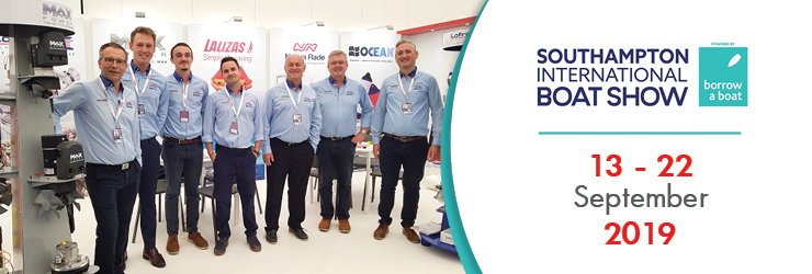 NUOVA RADE' extensive range of products impressed visitors during Southampton's International Boat Show 2019!