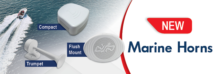 Make your signal loud & clear with the NEW Marine Horns by Nuova Rade!