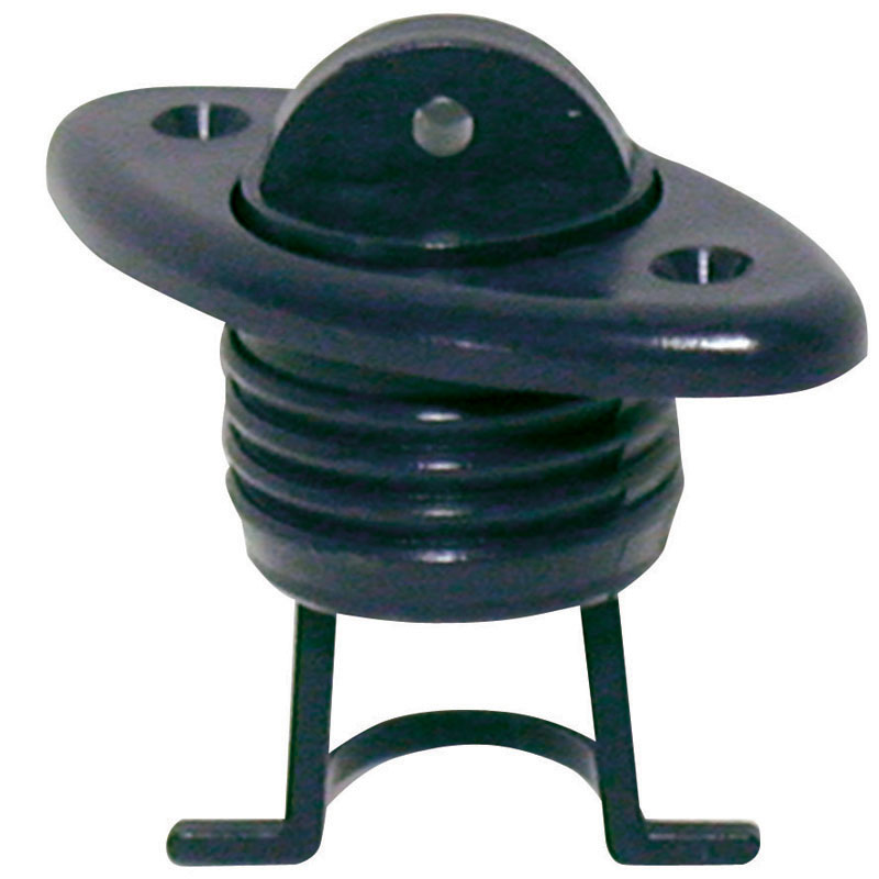 Drain Sockets with Captive Plug, Oval 60x30mm