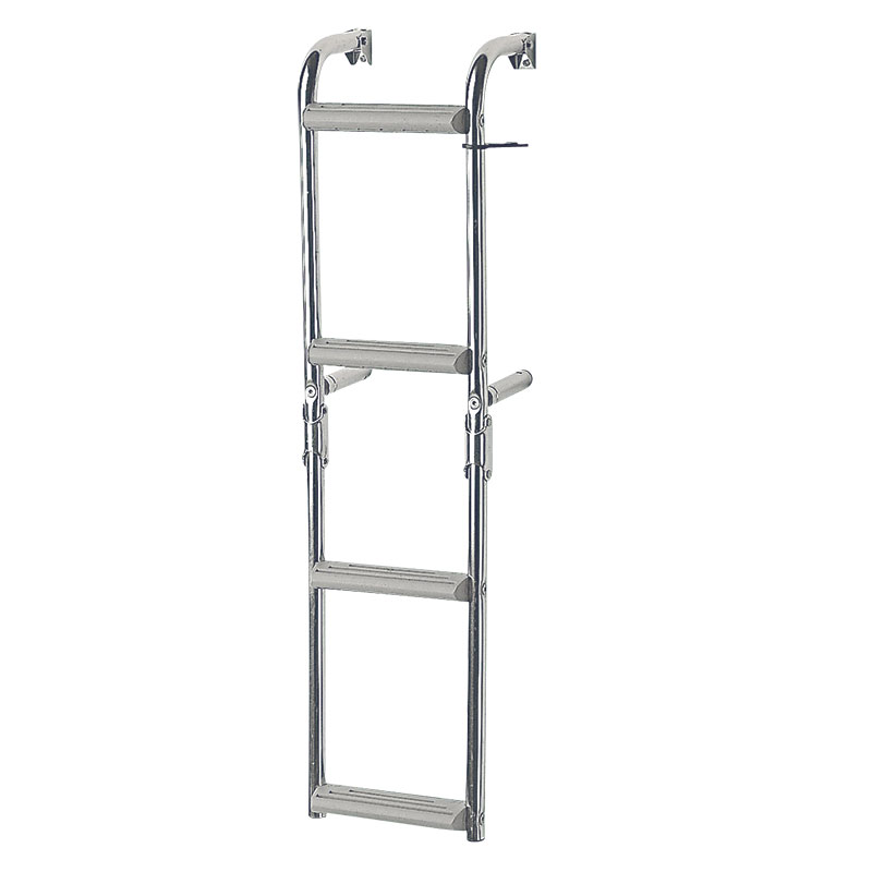 Foldable Ladders for narrow transom, 90⁰, Inox 316