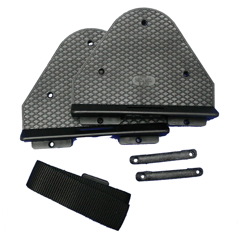 Bracket for Battery Box/Fuel Tank, with Strap 1,50m