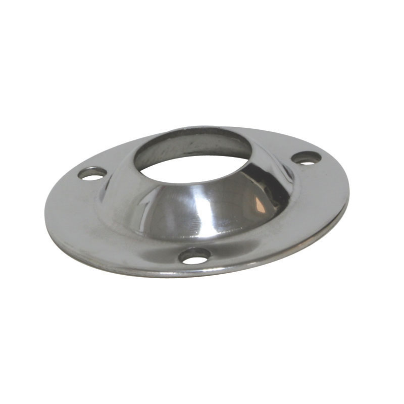 Round base 90o, AISI 316, Base Diam. 54mm
