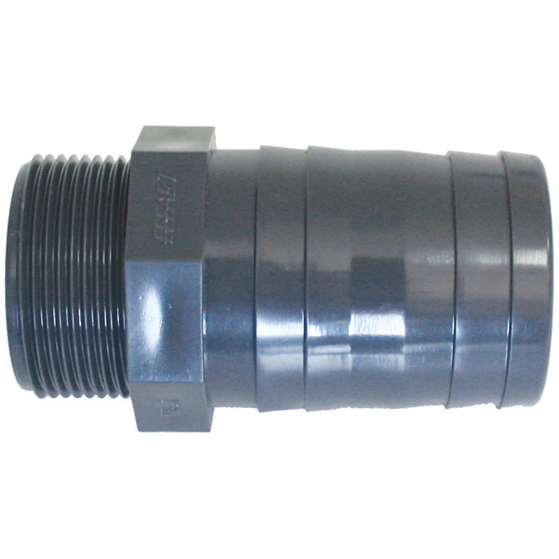 Hose Adaptors For Valve, Threaded BSPT, Plastic