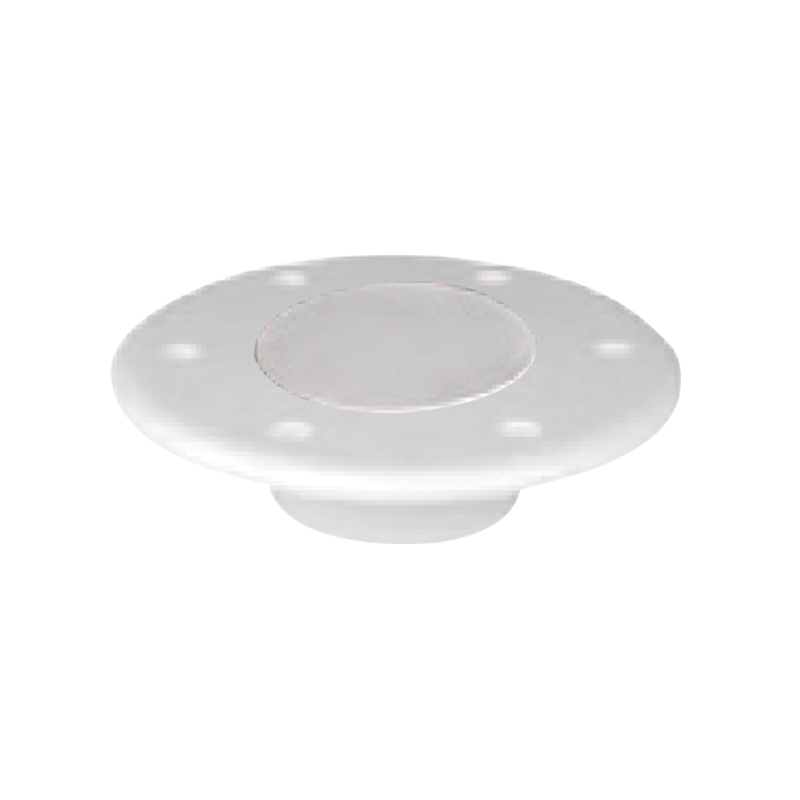 Table Bottom Plate, Flushmount, White