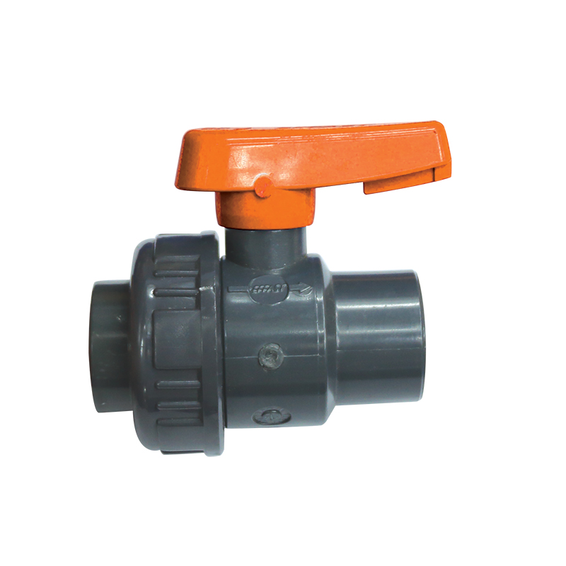 Ball Valve, Single Union, BSPP, Plastic