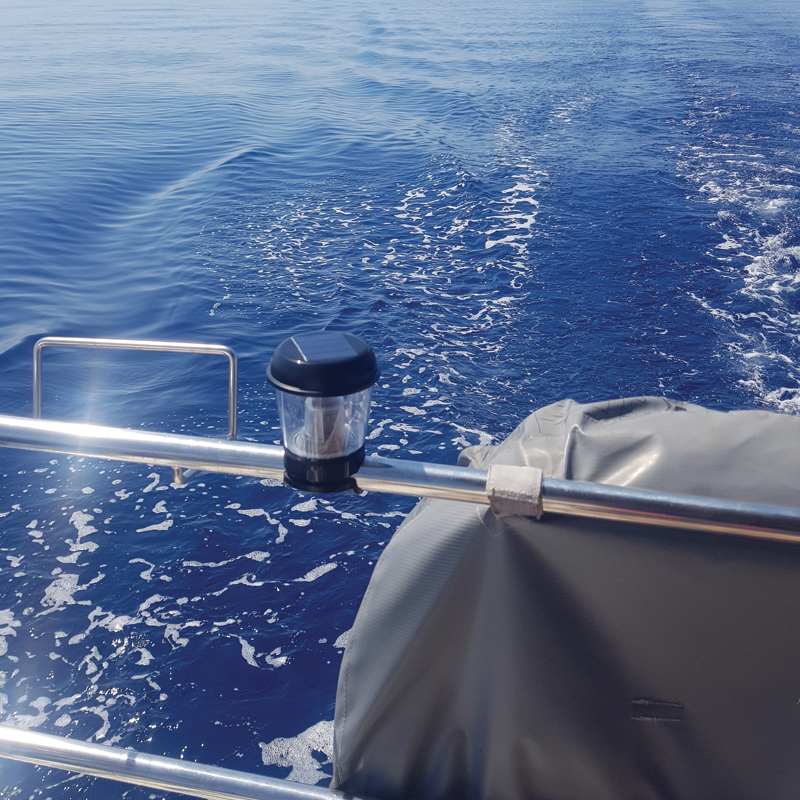 Solar Powered Marine Light