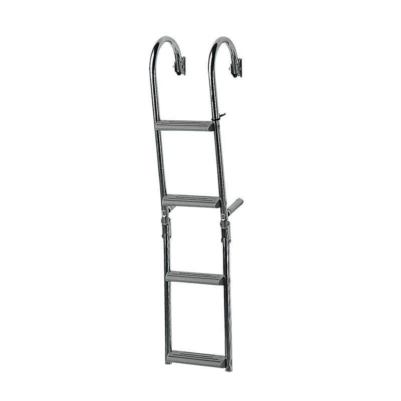 Foldable Ladder for narrow transom, 180⁰, Inox 316