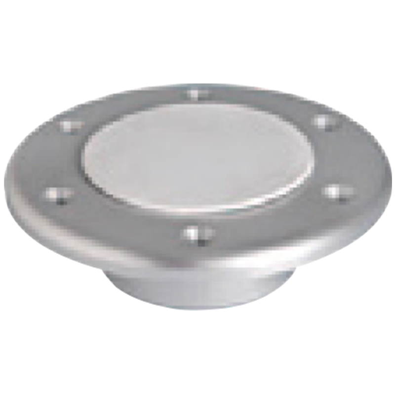 Table Bottom Plate, Flushmount, Aluminium